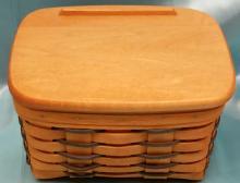 1998 Longaberger Heartland Collection Recipe Basket