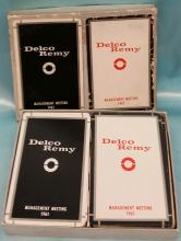 RARE 1961 General Motors - Delco Remy Division double Card Decks (playing cards)