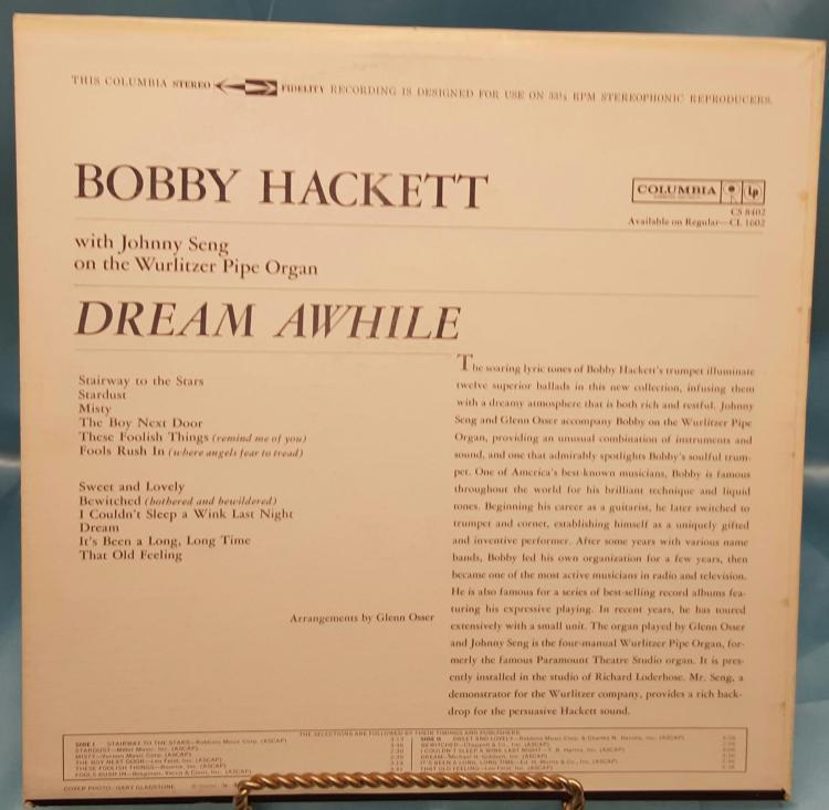 Bobby Hackett - Dream Awhile