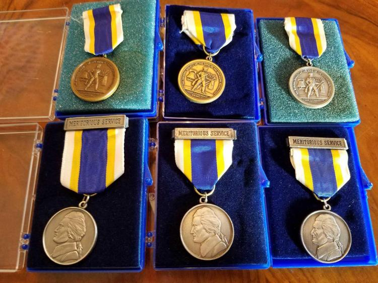 Sons of the American Revolution (SAR) Medals