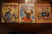 Group Lot of 3 Vintage Little Golden Books