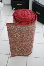 Wool rug runner