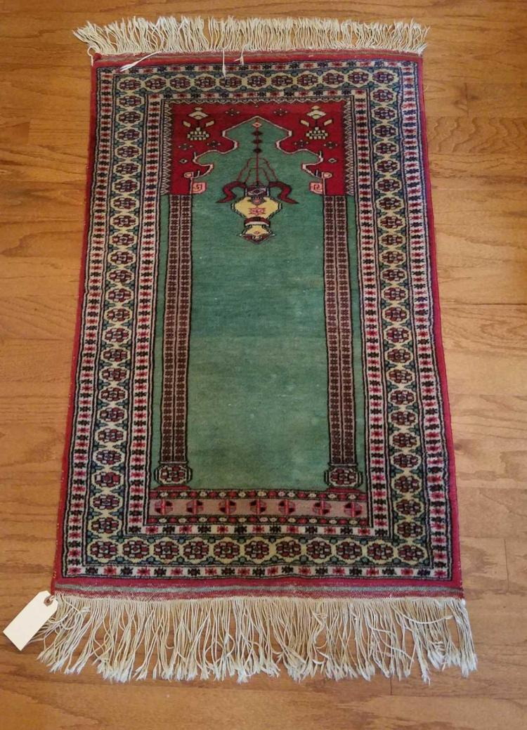 Hand Knotted Prayer Rug