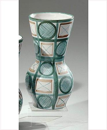 Robert PICAULT (1919-2000) Vase diabolo en