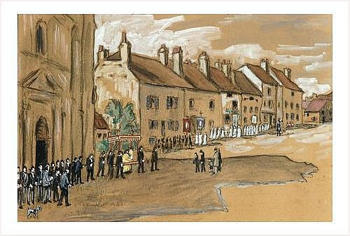 ROUX-CHAMPION Joseph Victor (1871-1953) LA FETE