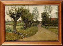 Albert Edward (Evard) Wang (Danish 1864-1930) THE