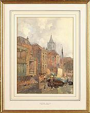 "John Ernest Aitken (1881-1957) ""GORINCHEM,"