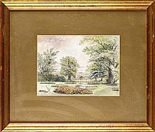 William Bell Scott (1811-1890) THE GARDEN AT