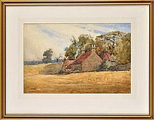 Christina Paterson Ross, RSW (1843-1906) A FARM WI
