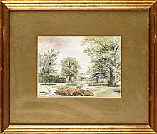 William Bell Scott (1811-1890) THE GARDEN AT KINGS