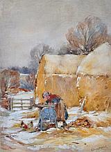 Thomas Harper (1820-c.1889) FISHERFOLK ON SOUTH SHIELDS BEA