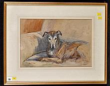 """Thomas """"Tom """"Carr"""" (1912-1977) """"BUTTON """"- PORTRAIT OF A LU"""