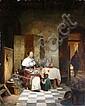 Willem Linnig (Belgian 1819-1885)