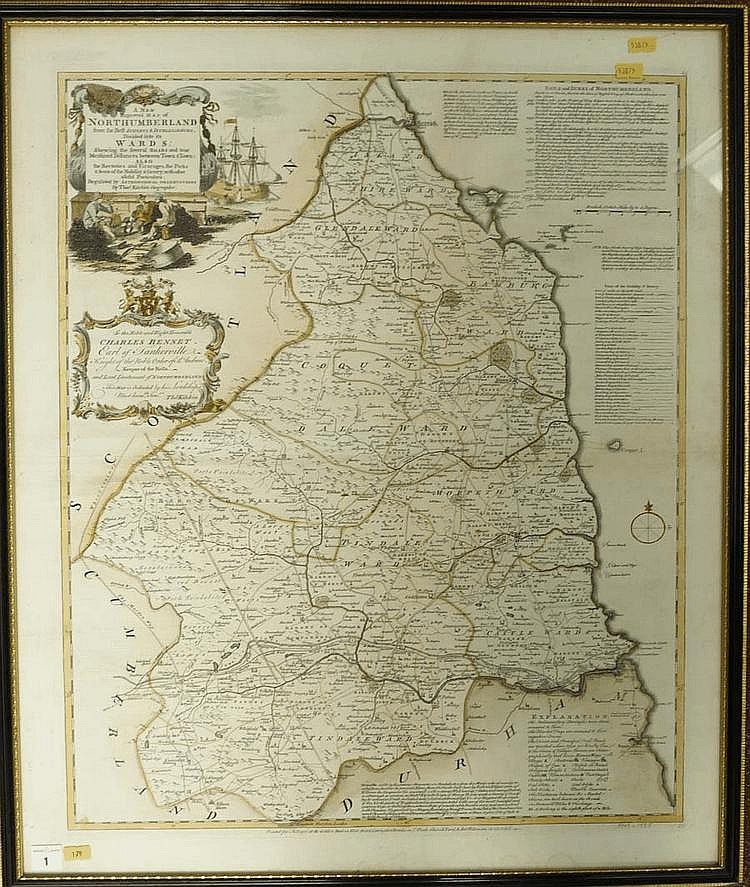 Thomas Kitchin (1719-1784) A NEW IMPROVED MAP OF