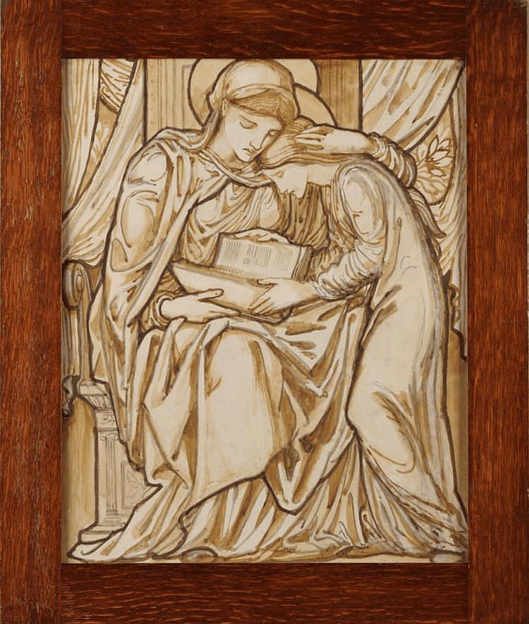 Studio of Sir Edward Coley Burne-Jones, Bt, ARA,