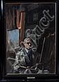 J *** Edgar Mitchell (1871-1922) A PORTRAIT OF THE