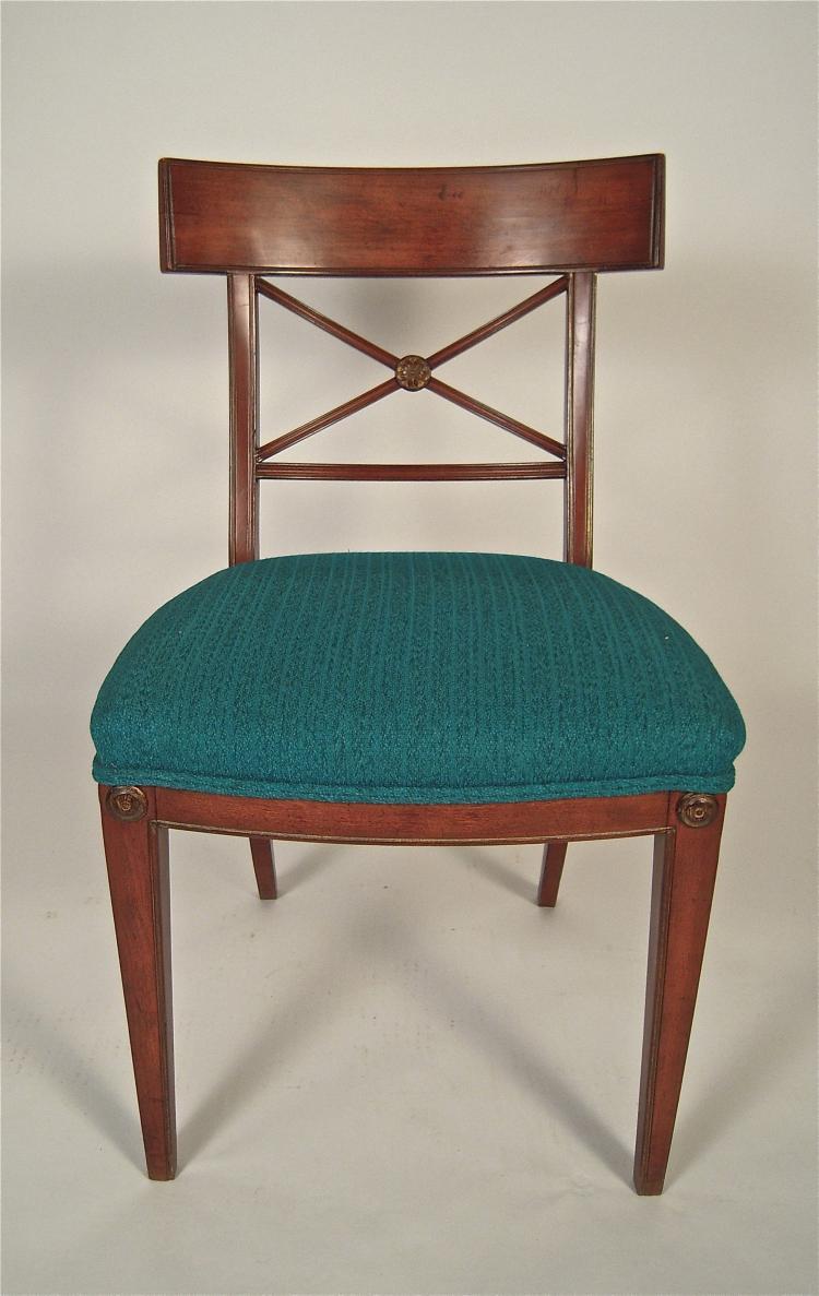 Regency Style Mahogany Chair