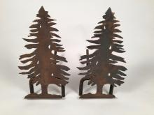 Tree Andirons
