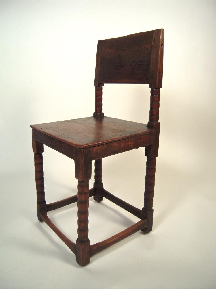 17th Century English Cromwellian Chair