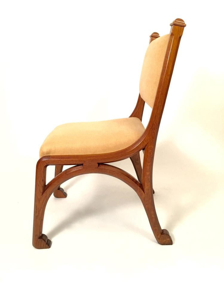 English Arts & Crafts Chair in the manner of Pugin