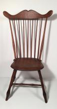 Fine and Unusual New Hamsphire Windsor Chair