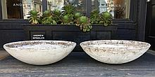 Pair of Mid-Century Modern Architectural  Willy Guhl Planters