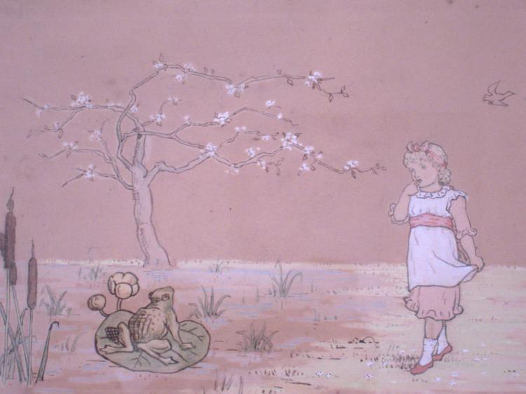 Kate Greenaway Drawing