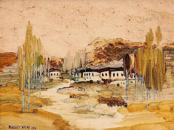 Necdet Kalay (1932-1986) - Peysage