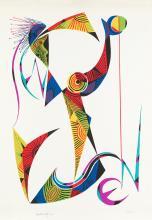 """RAFAEL ALBERTI (1902 / 1999) """"No title"""", 1974"""
