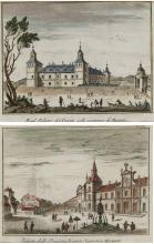 """THOMAS SALMON 1697 / 1767 """"Views of Madrid"""""""