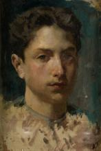 "ALEJANDRO FERRANT Y FISCHERMANS 1843 / 1917 ""Portrait"""