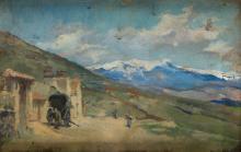 "ALEJANDRO FERRANT Y FISCHERMANS 1843 / 1917 ""Views of the Sierra de Guadarrama"""