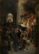 "ALEJANDRO FERRANT Y FISCHERMANS 1843 / 1917 ""Christ of Toledo"""