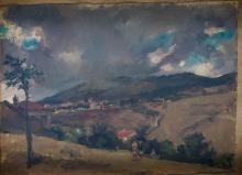 "ALEJANDRO FERRANT Y FISCHERMANS 1843 / 1917 ""Landscape"""
