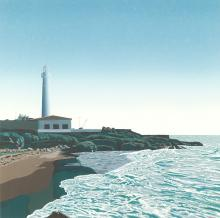 "EDUARDO SANZ (1928 / 2013). """"""Torrax Lighthouse"""" """