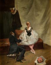 "ENRIQUE MIRALLES DARMANIN (1855 / 1900) ""Dancer"""