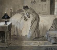"""ARTURO BALLESTER MARCO (1892 / 1981) """"Romantic love"""""""