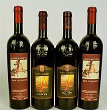 Banfi Brunello di Montalcino 2000, 2004, Lungarotti San Giorgio 1993 (4bt)