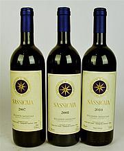 Tenuta San Guido Sassicaia 2007, 2008, 2010 (3bt)