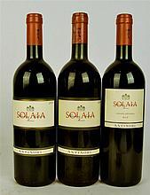 Antinori Solaia 1999, 2001, 2002 (3bt)