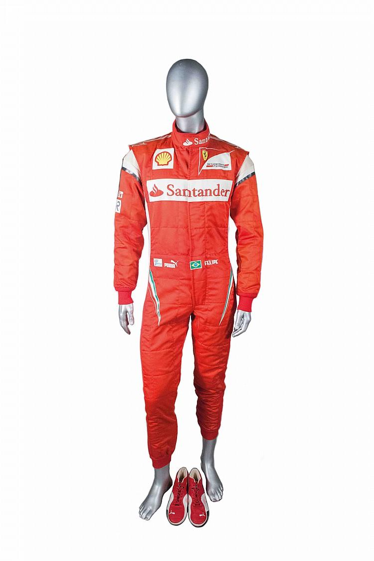 Felipe Massa's Ferrari overall