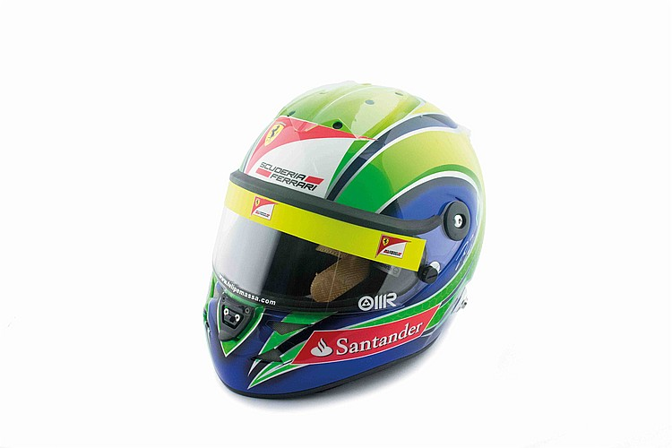 Massa's helmet