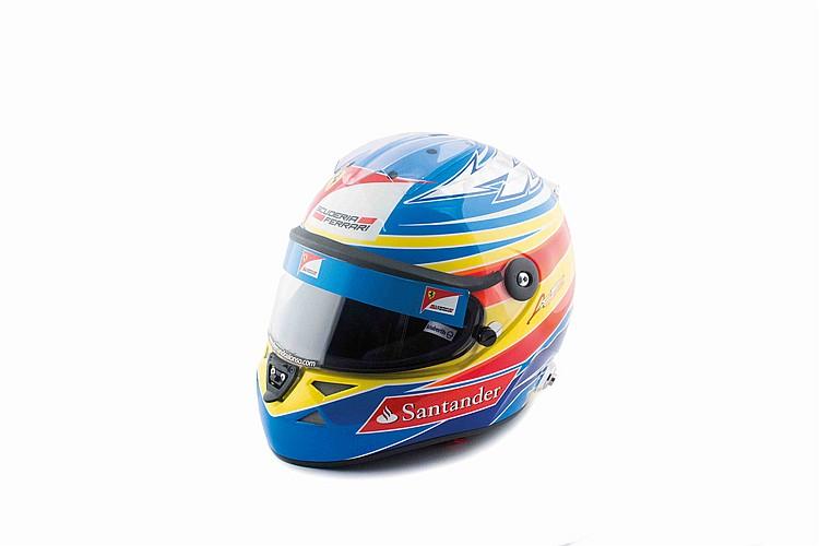 Alonso's helmet