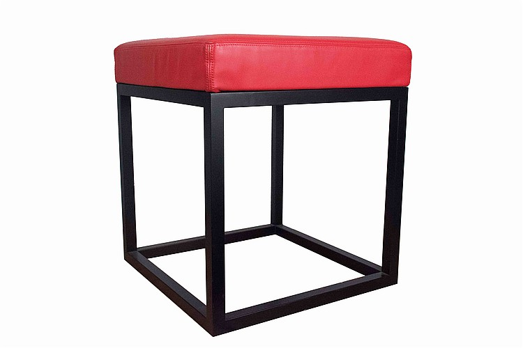 Massimo Iosa Ghini five square-shaped stools