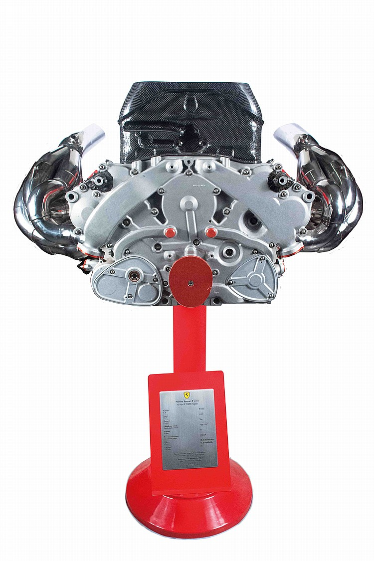 Ferrari F 2002 engine