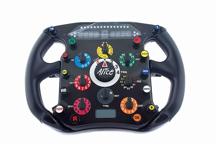 Ferrari F 2008 M5197 steering wheel