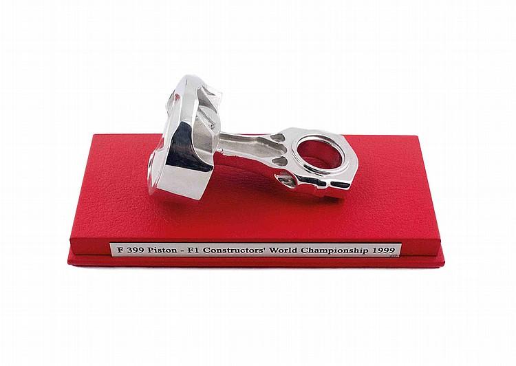 Ferrari F399 silver piston