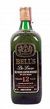 Bell's De Luxe Blended Scotch Whisky - 12 years old