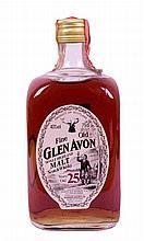 Glen Avon Fine Old Single Highland Malt Scotch Whisky - 25 years old (1 bt)