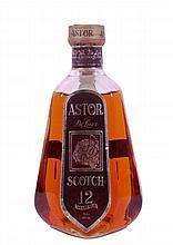 Astor De Luxe Scotch Whisky - 12 years old - in bottiglia di Cristallo